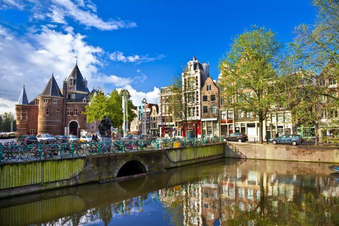 Amsterdam Canale Singel