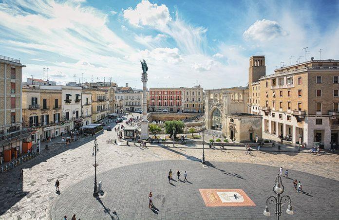 Lecce veduta