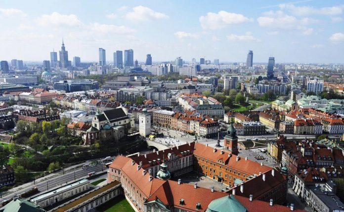 Panorama Varsavia