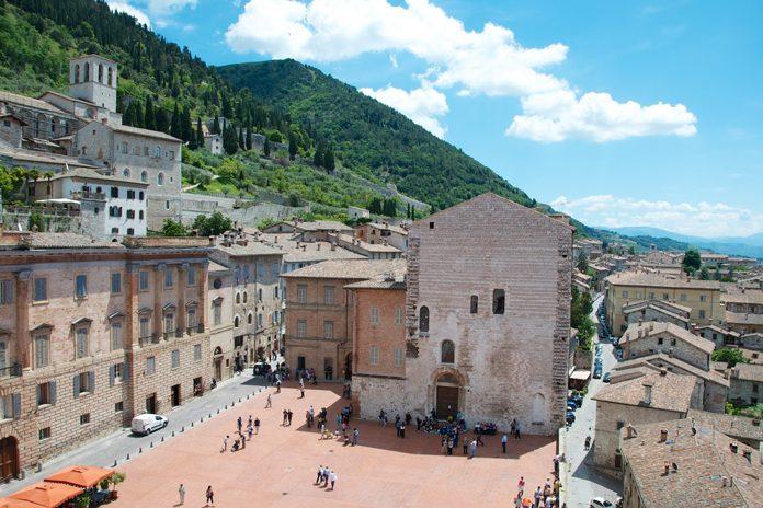 Gubbio Piazza Grande