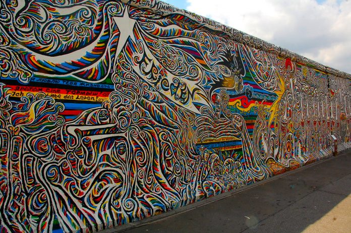 Berlino East Side Gallery Murales