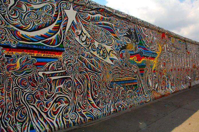 Berlino East Side Gallery Murales