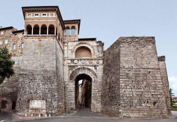 Perugia Porta Marzia