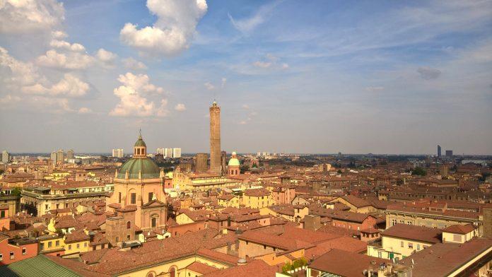 Bologna vista dalla Basilica S. Petronio