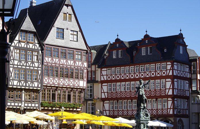 Francoforte Architettura Graticcio