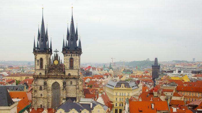 Praga Cattedrale S. Maria di Tyn
