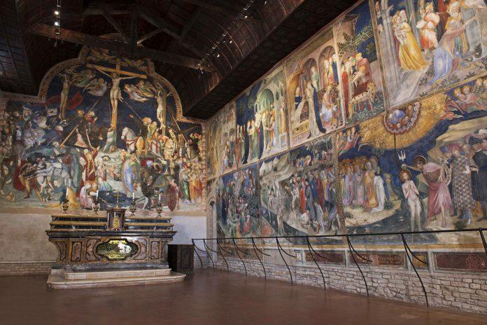 Urbino Oratorio di San Giovanni