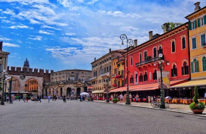Verona Piazza Bra