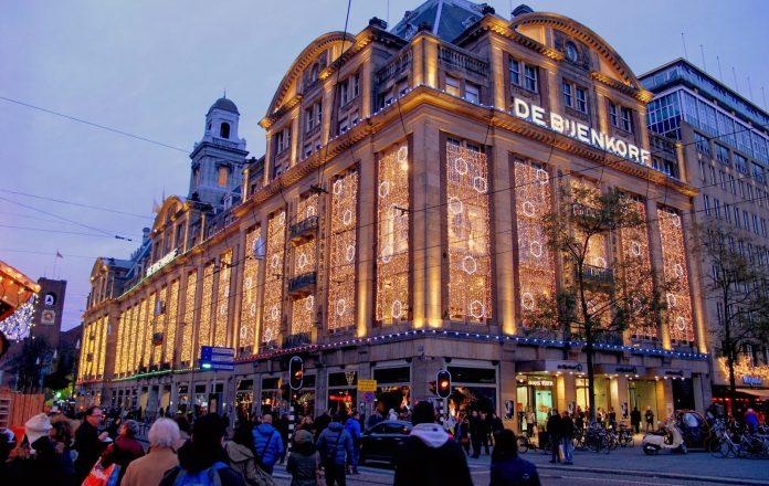 Amsterdam Galleria De Bijenkorf