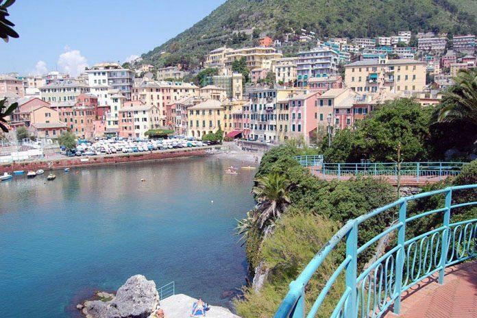 Genova Passeggiata Nervi
