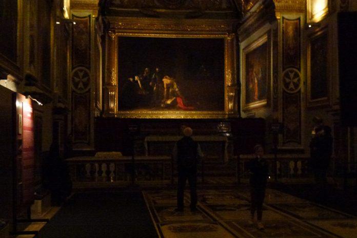 Malta La Valletta Caravaggio decollazione San Giovanni Battista