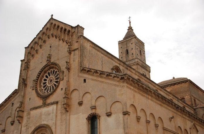 Matera Civita Cattedrale Madonna Bruna