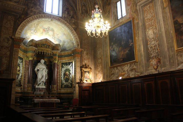 Urbino Oratorio di San Giuseppe