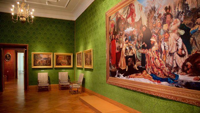 Varsavia Castello Reale Interni
