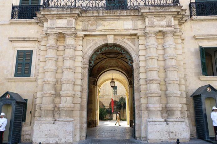 Malta La Valletta Palazzo del Gran Maestro