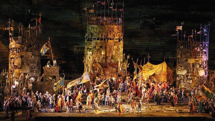 Verona Arena Trovatore