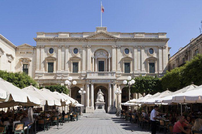 Malta La Valletta National Library