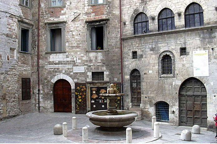 Gubbio Palazzo del Bargello