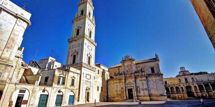 Lecce Campanile di Giuseppe Zimbalo