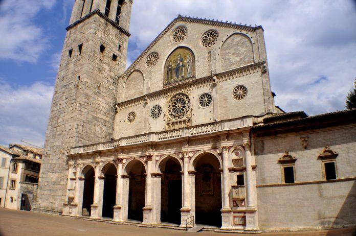 Spoleto Duomo Santa Maria Assunta