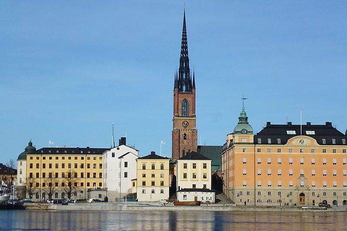 Stoccolma Riddarholmen Chiesa