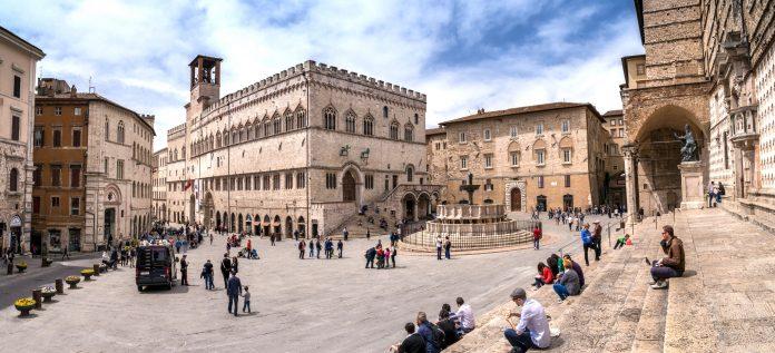 Perugia Piazza IV Novembre