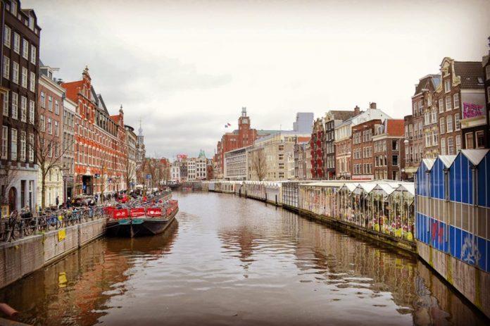 Amsterdam Singel Mercato dei Fiori