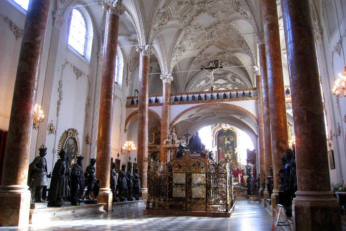 Innsbruck Chiesa di Corte cappella imperiale