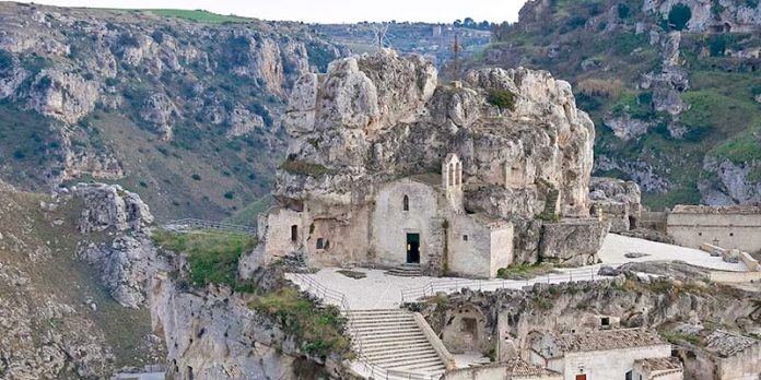 Matera Chiesa Rupestre Santa Maria de Idris