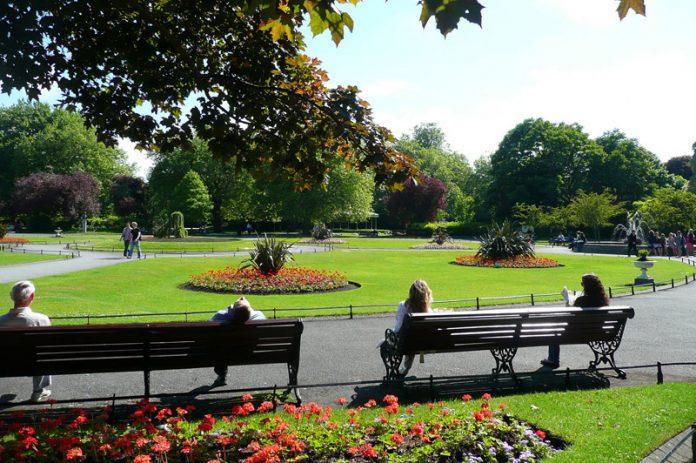 Dublino St Stephen Garden