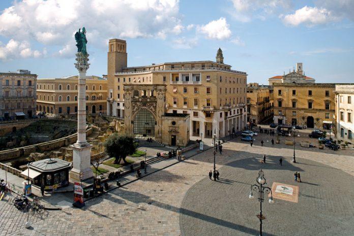 Lecce Piazza Sant'Oronzo