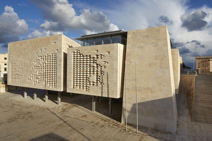 Malta La Valletta Teatro Renzo Piano