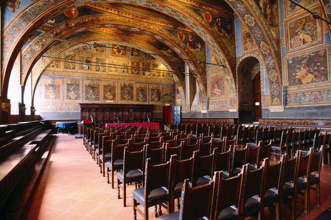 Perugia Sala dei Notari