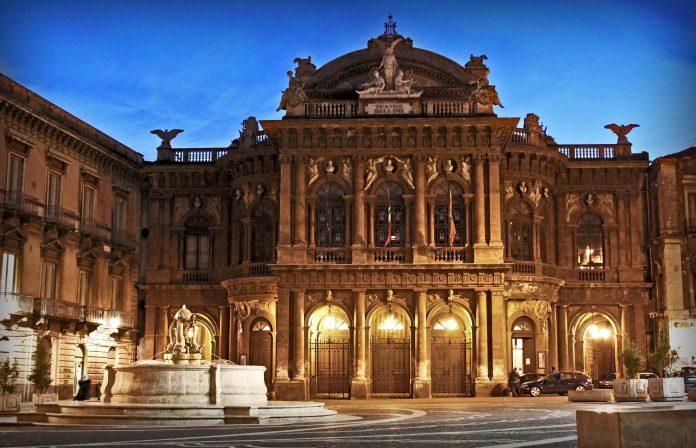 Catania Teatro Massimo Vincenzo Bellini