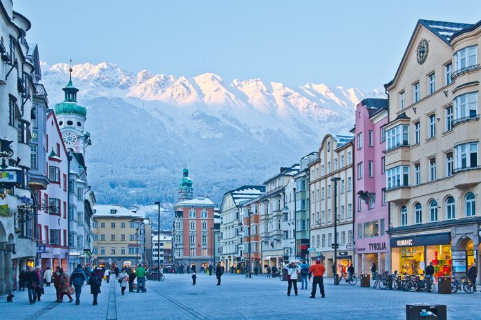 Innsbruck Maria-Theresien-Strasse