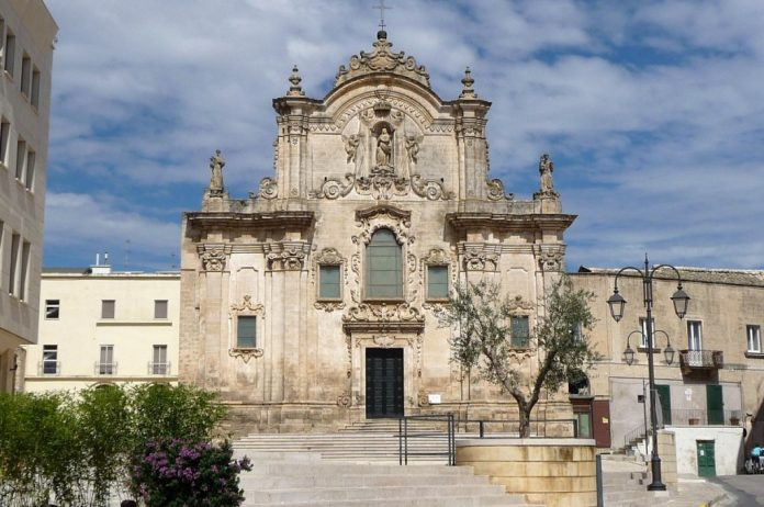 Matera Chiesa San Francesco d'Assisi