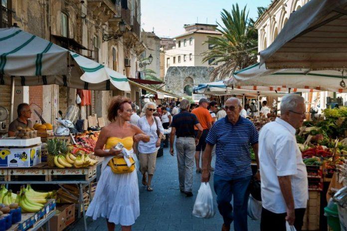 Siracusa Mercato Ortigia
