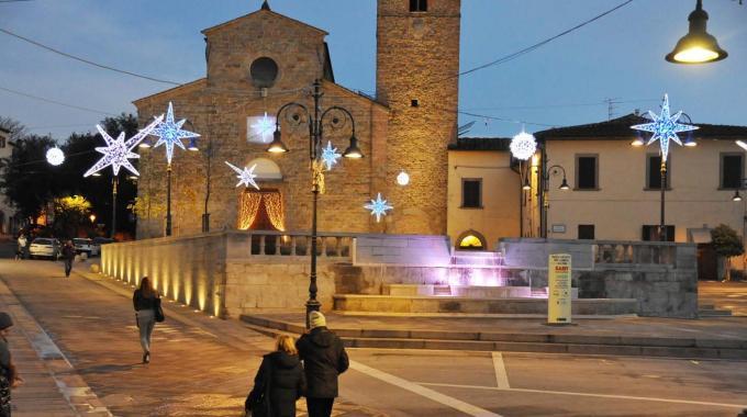 Arezzo Piazza S. Agostino