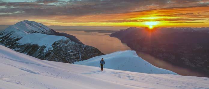 Monte Baldo sci Lago di Garda