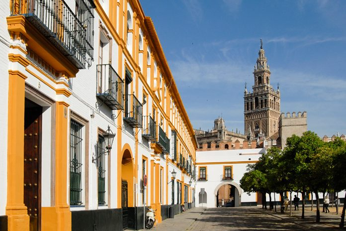 Siviglia Barrio de Santa Cruz