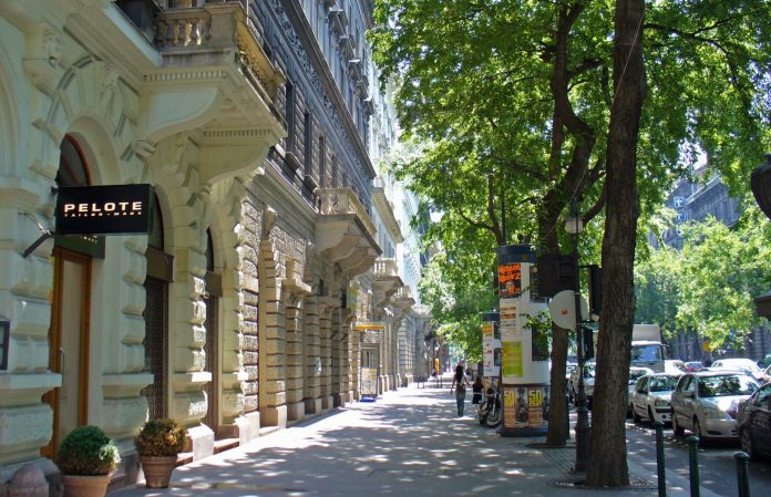 Budapest Viale Andràssy