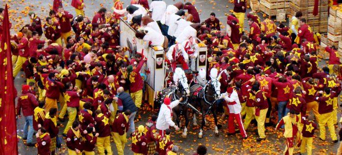 Ivrea Carnevale Arance