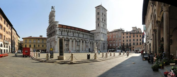 Lucca Piazza San Michele