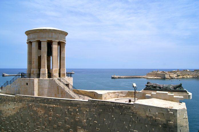 Malta La Valletta Siege Bell Memorial