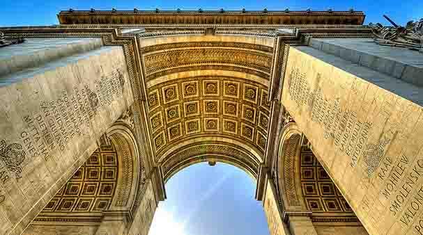 Parigi Arc de Triomphe