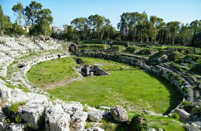 16 Siracusa Parco Archeologico Neapolis Anfiteatro Romano