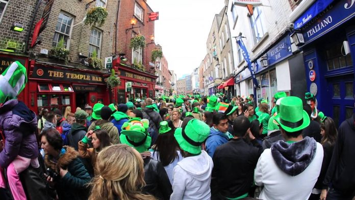 Dublino Temple Bar St Patrick