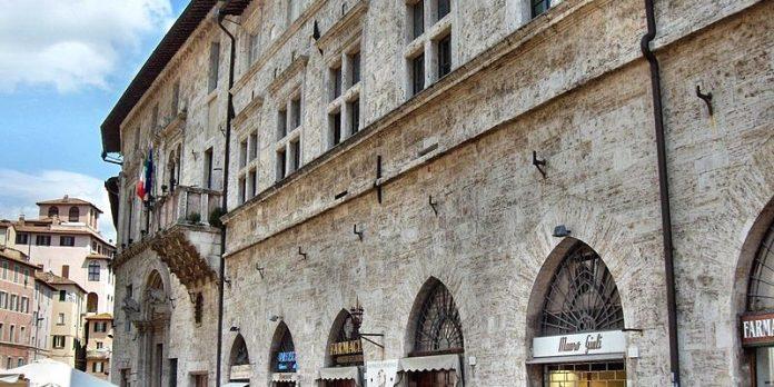 Perugia Palazzo del Capitano del Popolo