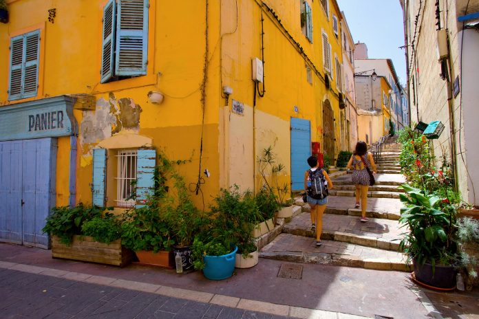 Marsiglia Quartiere Le Panier