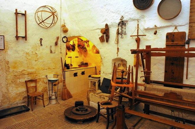 Matera Casa Grotta di Vico Solitario